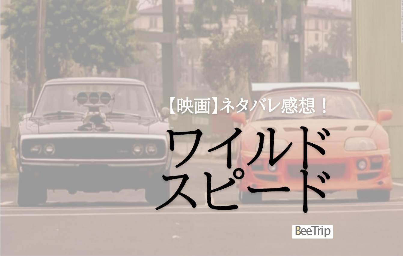 【ネタバレ感想】『ワイルド・スピード』を今更ながら見てみたら人情あふれる面白いカーアクション映画だった